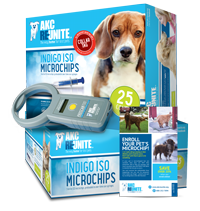 Clinic Kit - Indigo ISO+ Microchips with Tags