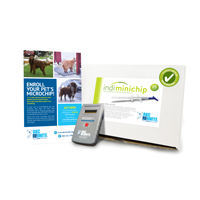 Puppy ID Kit - Indi Minichips with Prepaid Enrollments